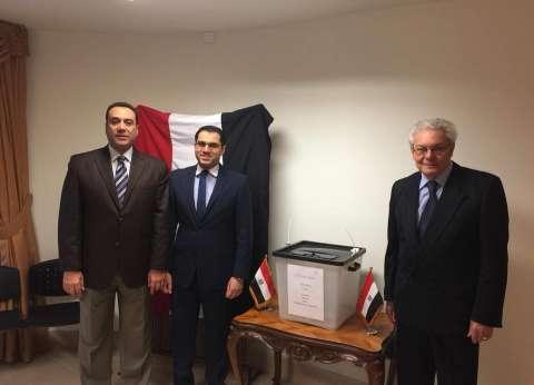 بالصور| تصويت المصريين بالخارج في المجر في الانتخابات الرئاسية