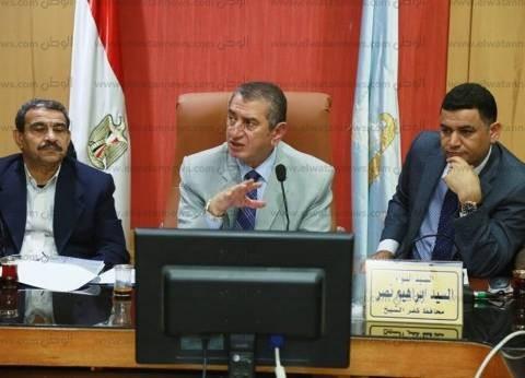 محافظ كفر الشيخ يبحث مقترح إقامة مصيف جديد ببلطيم على مساحة 1300 فدان