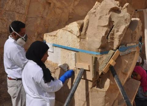 """""""الآثار"""": بدء ترميم وصيانة مقبرة حاروا بالأقصر"""