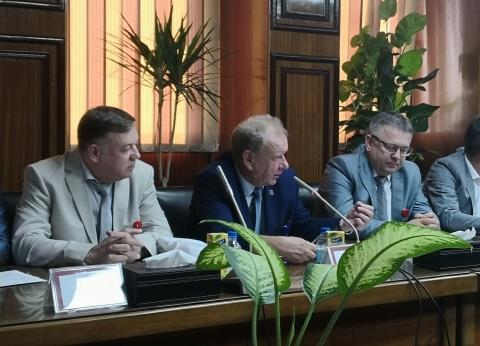 وفد روسى يثنى على إجراءات تنفيذ مشروع «الضبعة النووية».. ويشيد بإدارة ملف «التقبل الجماهيرى»