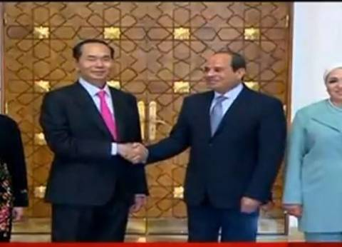 نص كلمة رئيس فيتنام: اتفقنا على زيادة حجم التبادل التجاري لمليار دولار