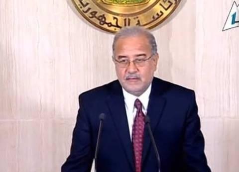 شريف إسماعيل: لم ندرس إجراء حركة تغييرات للمحافظين