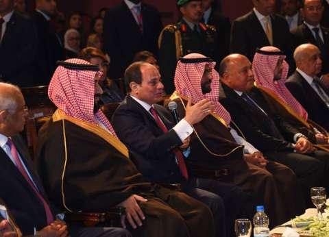 عاجل| الرئيس السيسي يصل مطار القاهرة لوداع محمد بن سلمان