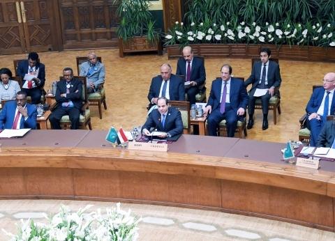 السيسي يترأس أعمال اجتماع قمة الترويكا ورئاسة لجنة ليبيا رفيعة المستوى بالاتحاد الأفريقي