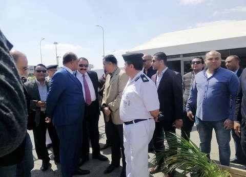 مدير أمن مطار القاهرة يتفقد تأمين لجان التعديلات الدستورية