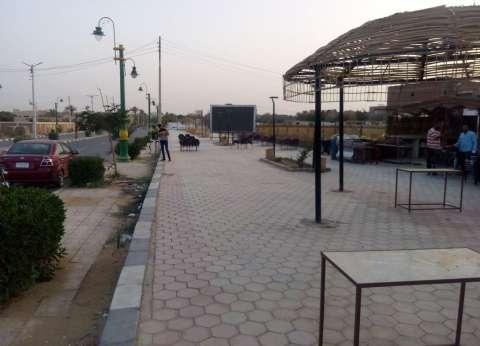 الوادي الجديد تعلن تأجير الممشي السياحي بحي 25 يناير