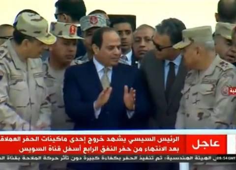 عاجل| السيسي: سيناء أرضنا.. وسنستخدم العنف للحفاظ عليها