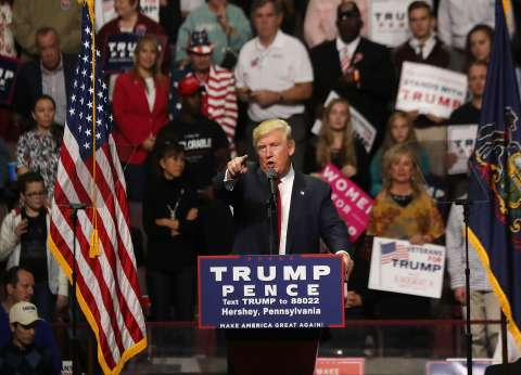 """""""الأغلبية الصامتة"""".. أمل ترامب في الانتخابات الأمريكية"""