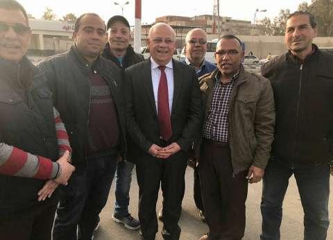 محافظ بورسعيد يشيد بجهود رجال أمن الموانئ والجمارك