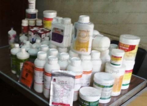 ضبط مصنع أدوية بيطرية مجهولة المصدر بطنطا