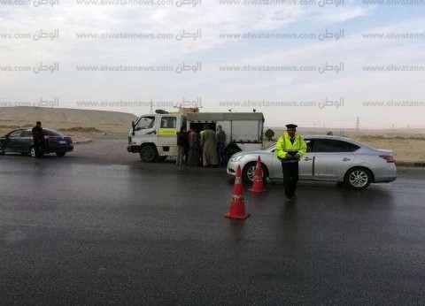 ضبط 8322 مخالفة في حملات مرورية على الطرق السريعة