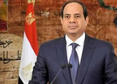 السيسي يهنئ الشيخ صباح الأحمد بعيد الأضحي