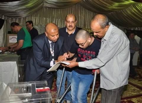 ذوو الاحتياجات الخاصة يشكرون الجيش والشرطة لتيسير التصويت ببني سويف