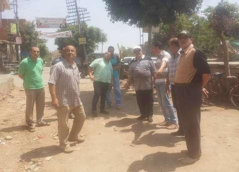 """محافظ الغربية يوجه بإنهاء أعمال تطوير الوحدة المحلية بقرية """"ميت يزيد"""""""