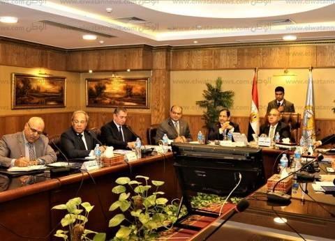محافظ كفر الشيخ يستعرض المشروعات التنموية أمام وزير التنمية المحلية