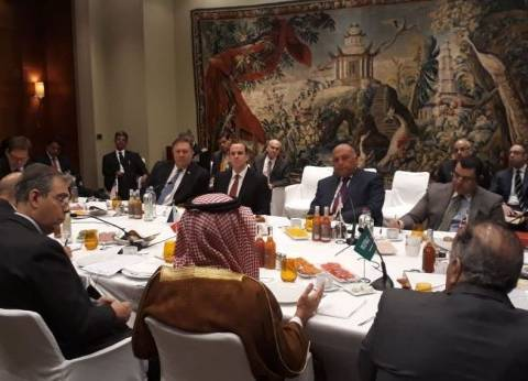 عاجل| وزير الخارجية يشارك في اجتماع المجموعة الدولية المصغرة حول سوريا