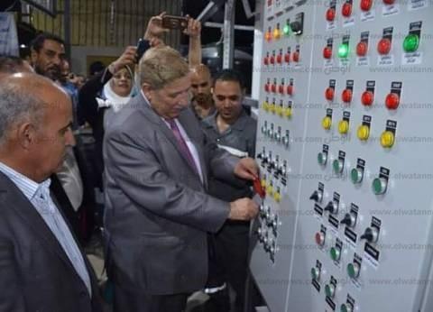 """محافظ الإسماعيلية: مياه الشرب بـ""""سرابيوم"""" ترفع الطاقة التصريفية للمحطة"""