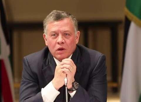 عاجل| ملك الأردن يبعث برقية عزاء للسيسي: نقف بجانب مصر في محاربة الإرهاب