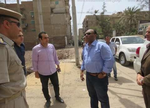 مدير أمن الغربية يتفقد تأمين الكنائس والخدمات الأمنية بالسيد البدوي