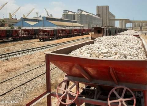 تصدير ألفين طن يوريا و10 آلاف طن فوسفات عبر ميناء دمياط