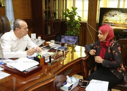 """محافظ كفر الشيخ يبحث مشاكل الري الحقلي والزراعة مع أعضاء """"النواب"""""""