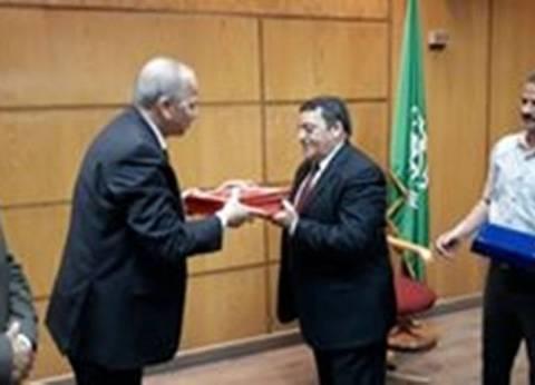 احتفالية كبرى لتكريم السكرتير العام المساعد لمحافظة القليوبية