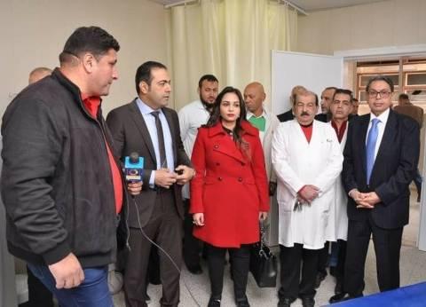 """نواب """"مستقبل وطن"""" ببورسعيد يفتتحون قسم الأشعة المقطعية بمستشفى بورفؤاد العام"""