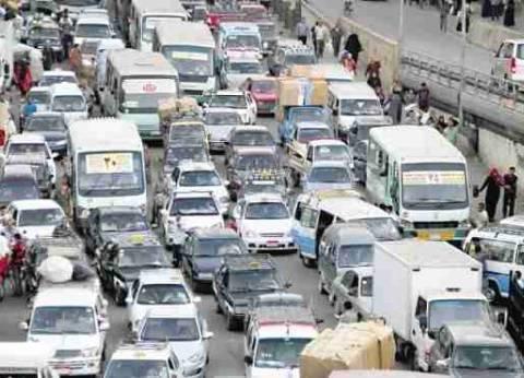 تعطل الطريق الصحراوي بالإسكندرية 15 دقيقة بسبب حادث مروري