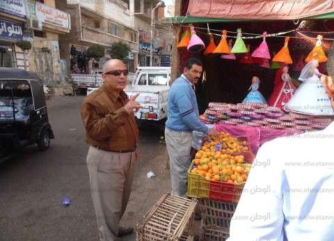 تحرير 38 قضية متنوعة في حملة مرافق بمدينة مرسى مطروح