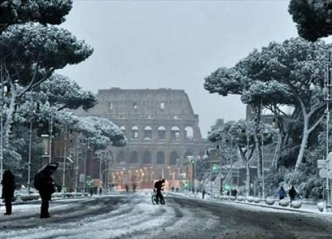 ثلوج على روما وسط موجة صقيع تضرب أوروبا