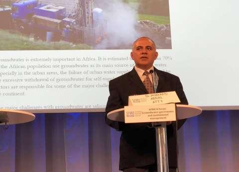 وزير الري من السويد: نقص المياه 2% يهدد 200 ألف مزارع مصري بالبطالة