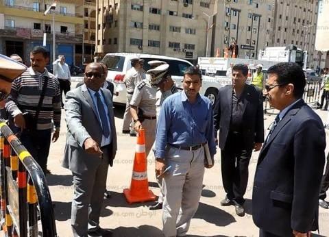بالصور| مدير أمن الغربية يتفقد التمركزات الأمنية بطنطا