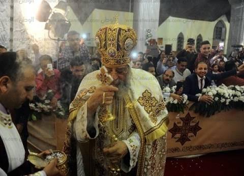 البابا تواضروس يؤكد على الصلاة لمصر ونهضتها بقداس عيد القيامة
