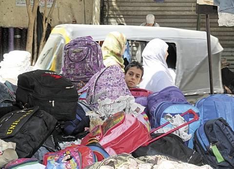 توزيع 8477 شنطة مدرسية على طلاب مدارس الغردقة وسفاجابالبحر الأحمر