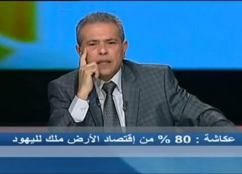 """توفيق عكاشة: """"أنا ما بعرفش أطبل"""".. واختلفت مع الرئيس رغم تأييدي له"""