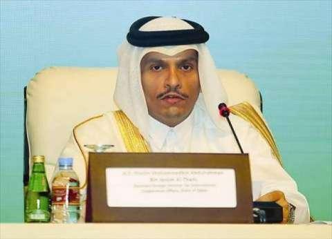 وزير خارجية قطر: علاقتنا ممتازة مع المؤسسات الأمريكية