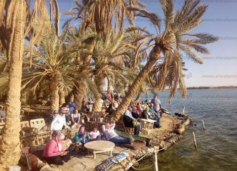 واحة سيوة تشهد إقبالا سياحيا خلال شم النسيم