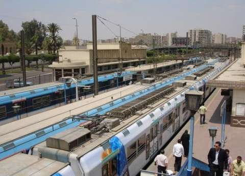 """توقف حركة مترو الأنفاق بالخط الأول """"حلوان - المرج"""" لسوء الأحوال الجوية"""