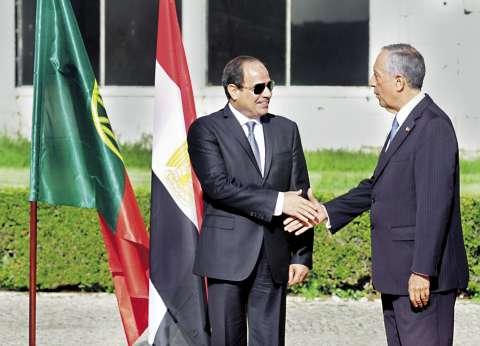 رئيس الوزراء يلتقي الرئيس البرتغالي لمناقشة التعاون الاقتصادي