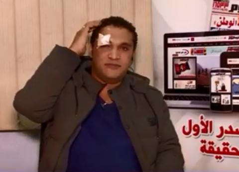 """صحفي مُعتدى عليه بـ""""الصيادلة"""": احتجزونا في البدروم.. والكاميرات موجودة"""