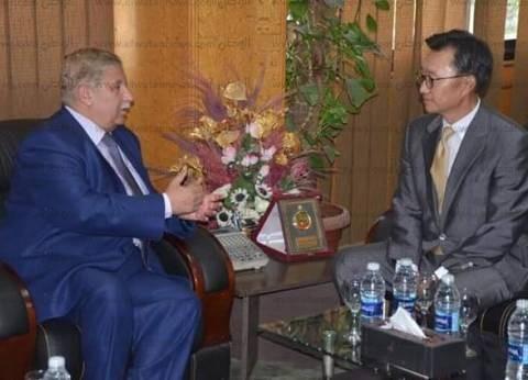 محافظ الإسماعيلية يستقبل قنصل الصين غدا