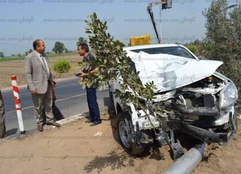 إصابة 5 مواطنين في حادث سيارة بطريق «مطروح - الإسكندرية»