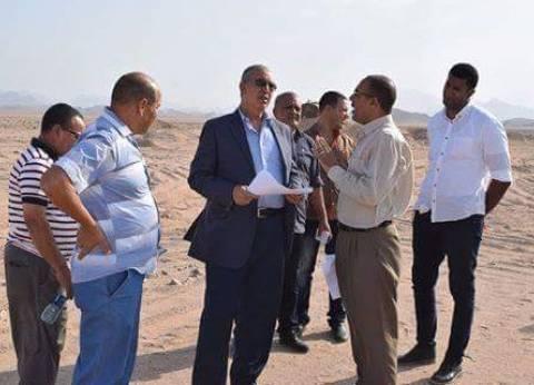 """محافظ البحر الأحمر يوجه بسرعة الانتهاء من أعمال إنشاء """"السدود"""""""