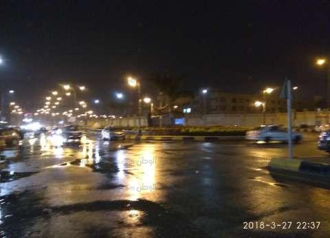 هطول أمطار على الدقهلية قبل غلق باب التصويت