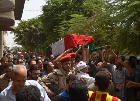 بعد تكريمه في عيد الشرطة.. واقعة استشهاد ملازم أول شرف جمال حامد