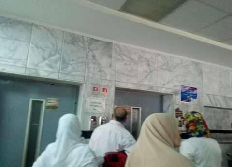 """تعطل مصعد بمستشفى بركة السبع و""""الحماية المدنية"""" تنقذ 7 أشخاص"""