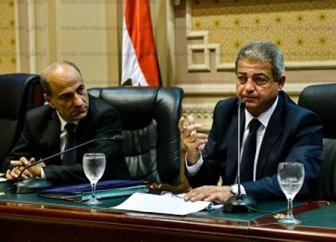"""وزير الرياضة لـ""""السيسي"""": طورنا 3 آلاف ملعب في مراكز الشباب"""