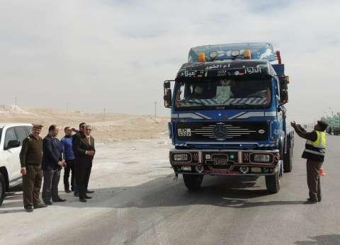 مدير أمن المنيا: حملات مرورية بالطرق السريعة للحد من الحوادث
