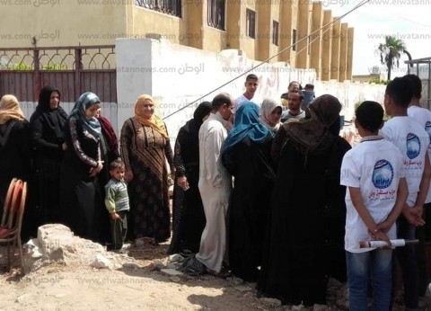 نائب: إقبال كبير من المواطنين على لجان الاستفتاء بالشرقية