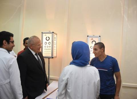 """رئيس جامعة القاهرة: نسبة إصابة العاملين بفيروس """"سي"""" تتراوح بين 4 - 5%"""